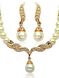 cheap -Jewelry Set Women's Anniversary / Wedding / Engagement / Birthday / Gift / Party / Daily / Special Occasion Jewelry SetsImitation Pearl /