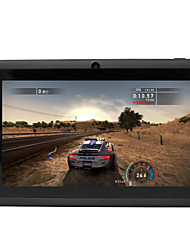 billiga -7 tum Android Tablet (Android 4.4 1024 x 600 Quad Core 512MB+8GB) / TFT / 0.3 / 1.3 / 32 / 1.3