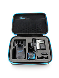 Case/Bags Waterproof Housing Case Waterproof For Action Camera Gopro 4 Session Gopro 4 Silver Gopro 4 Gopro 4 Black Gopro 2 Universal PU