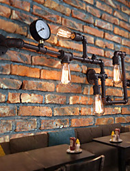 cheap -Rustic/Lodge Wall Lamps & Sconces For Metal Wall Light 110-120V 220-240V 40WW