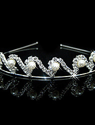 cheap -Alloy Headbands 1 Wedding Special Occasion Headpiece