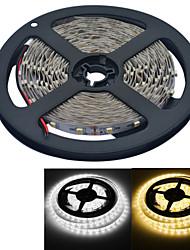 YouOkLight 5 M 300 3528 SMD Branco Quente / Branco Cortável / Adequado Para Veículos / Auto-Adesivo 25 W Faixas de Luzes LED Flexíveis