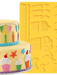 Utensílios de Decoração Bolo / Cupcake / Chocolate