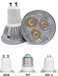 cheap -3000/6500 lm GU10 GU5.3(MR16) E26/E27 LED Spotlight MR16 3 leds High Power LED Decorative Warm White Cold White AC 85-265V
