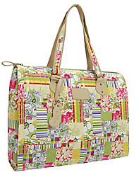 Women Bags All Seasons PU Canvas Tote for Casual Screen Color
