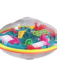 Недорогие -Новый 3D Magic интеллект игры лабиринт шар Дети дети-головоломка образований IQ способность практическая тренер 99 оформление