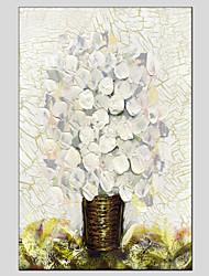 povoljno -Ručno oslikana Mrtva priroda Vertikalna panoramska, Europska Style Moderna Platno Hang oslikana uljanim bojama Početna Dekoracija Jedna