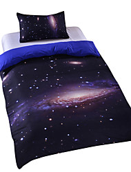 cheap -New Galaxy Outer Space Duvet Cover Set Bedding Twin Full Queen King