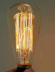 40w e27 edison ST64 retro light bulb (220-240V)