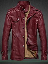 economico -MEN - Giacche e cappotti - Informale Supporto - Maniche lunghe Cotone / PU