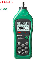 baratos -MASTECH-ms6208a- contato tacômetro linha medidor de velocidade tacômetro com luz de fundo + armazenamento de dados