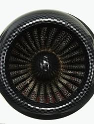 Недорогие -48mm углерода очиститель воздуха фильтр для 200cc яма Байк скутер мотоцикл