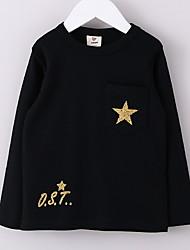 preiswerte -Bedruckt / Niedlich KID - Top & T-Shirt (Baumwolle)