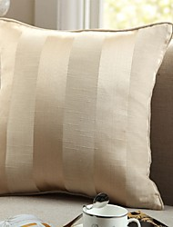 cheap -1 pcs Cotton Pillow Cover, Striped Modern/Contemporary