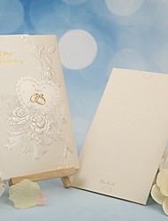 cheap -Tri-Fold Wedding Invitations 50 - Others Invitation Cards Classic Material Pearl Paper Flower