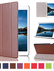cheap -Case For iPad Mini 4 iPad Mini 3/2/1 iPad 4/3/2 iPad Air 2 iPad Air Card Holder with Stand Full Body Cases Scenery PU Leather for iPad
