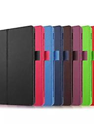 abordables -Funda Para Asus ZenPad S 8.0 Z580C Funda de Cuerpo Entero Un Color Dura Cuero de PU para ASUS ZenPad S 8.0 Z580C