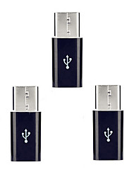 cheap -Cwxuan™ USB 3.1 Type-C Male to Micro USB 5pin Female Extension Adapters   (3 PCS)