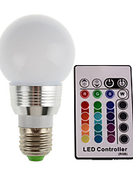 2W E14 E26/E27 Luci LED da palcoscenico 1 leds LED ad alta intesità Controllo a distanza Decorativo Colori primari 2700-7000lm