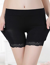 cheap -Women's Sexy Lace Bamboo Fiber Thicker Boy shorts & Briefs / Ultra Sexy Panties Anti Emptied Underwear