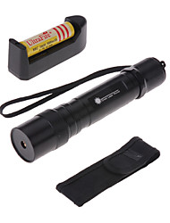 cheap -LT - 5mw 532nm Visible Adjustable Beam Green Laser  Pen Flashlight - Black
