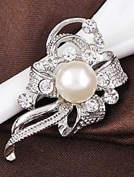 cheap -Women's Brooches - Crystal Stylish, Fashion Brooch Silver / Lavender For Wedding / Party / Dailywear
