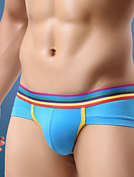 cheap -Men's Super Sexy Briefs Underwear Color Block 1box