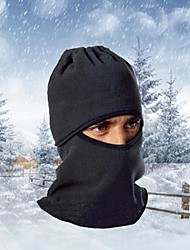 cheap -Ski Balaclava Hat Balaclava Bike Breathable Thermal / Warm Windproof Dust Proof Women's Men's Black Fleece