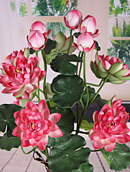 cheap -The Sitting Room Adornment Flower Art Polyester Lotus Artificial Flowers