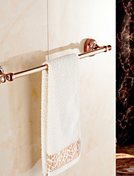 Towel Bar / Gold Brass Zinc Alloy /Neoclassical