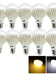 economico -E26/E27 Lampadine globo LED 24 SMD 5630 1050 lm Bianco caldo Luce fredda 6000/3000K K Decorativo AC 220-240 V