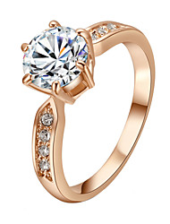 cheap -Princess - 1 Circle Classic Gold / Silver Ring For Party / Party / Evening