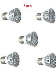 cheap -5pcs 3*2W E27/GU10 3LED 450LM 2Red+1Blue Led Grow Light for Flowering Plant (AC220V)