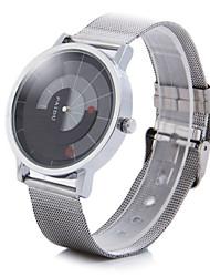 Недорогие -Муж. Наручные часы Уникальный творческий часы Кварцевый Серебристый металл Аналоговый 2 # 3 # 4 #