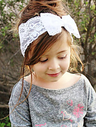 Kid's Cute Lace Bowknot Elastic Headband