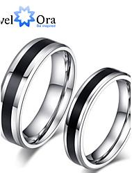 preiswerte -Damen Bandring - Modisch Schwarz / weiss / Schwarz / Weiß Ring Für Party