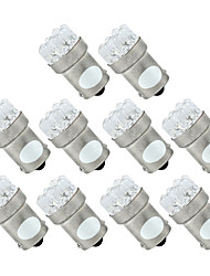 10 1156 382 1093 BA15S P21W White 9 LED Tail Stop Parking Light Bulb Lamp