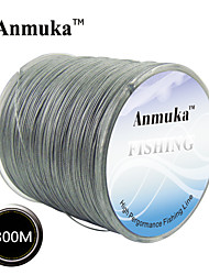 cheap -500M Anmnka Brand  Super Strong Japan Multifilament PE Braided Fishing Line 8 ~ 80LB