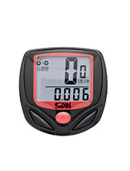 cheap -Cycling/Bike Bike Computers/Bicycle Computers Clock / Riding Time Calculator / Convenient / Odometer Black Plastic