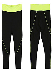 cheap -Women's Running Baselayer / Running Tights / Gym Leggings - Black Sports Solid Colored, Fashion Pants / Trousers Yoga, Fitness, Gym Activewear Compression, Lightweight Materials, Sweat-wicking