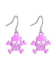 cheap -Women's Drop Earrings Alloy Skull / Skeleton Jewelry For Party Daily Casual