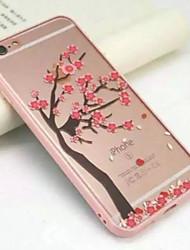 sotto un albero di ciliegio piena di acrilico trasparente avvolgimento custodie morbide per iPhone6 / 6s iphone (colori assortiti)