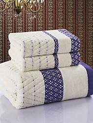 Ensemble de serviette de bainJacquard Haute qualité 100% Coton Serviette