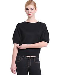moda casual camisola morna top feminino