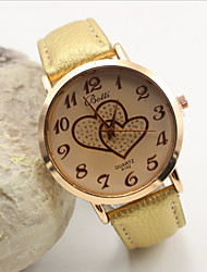 cheap -Women's Fashion Personality Love Leather Quartz Belt Watch(Assorted Colors) Cool Watches Unique Watches