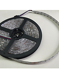 cheap -5m RGB Strip Lights 300 LEDs 5050 SMD RGB Remote Control / RC / Cuttable / Dimmable 100-240 V / Linkable / Suitable for Vehicles / Self-adhesive / Color-Changing / IP44