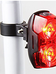 cheap -Bike Lights Rear Bike Light Safety Lights LED - Cycling Waterproof Easy Carrying Warning LED Light AAA 400 Lumens Battery Cycling/Bike