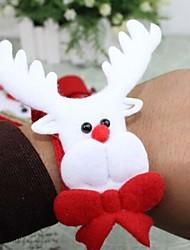 Недорогие -Снеговик рождественские лось браслеты браслеты аплодировали группу из четырех
