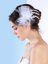 cheap -Women's Tulle Headpiece-Wedding / Special Occasion Fascinators