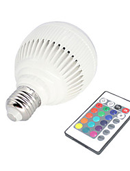 Acoustic Bass Wireless Remote Control Bluetooth LED Speaker Light Bulb